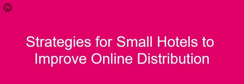 Strategies for Small Hotels to Improve Online Distribution