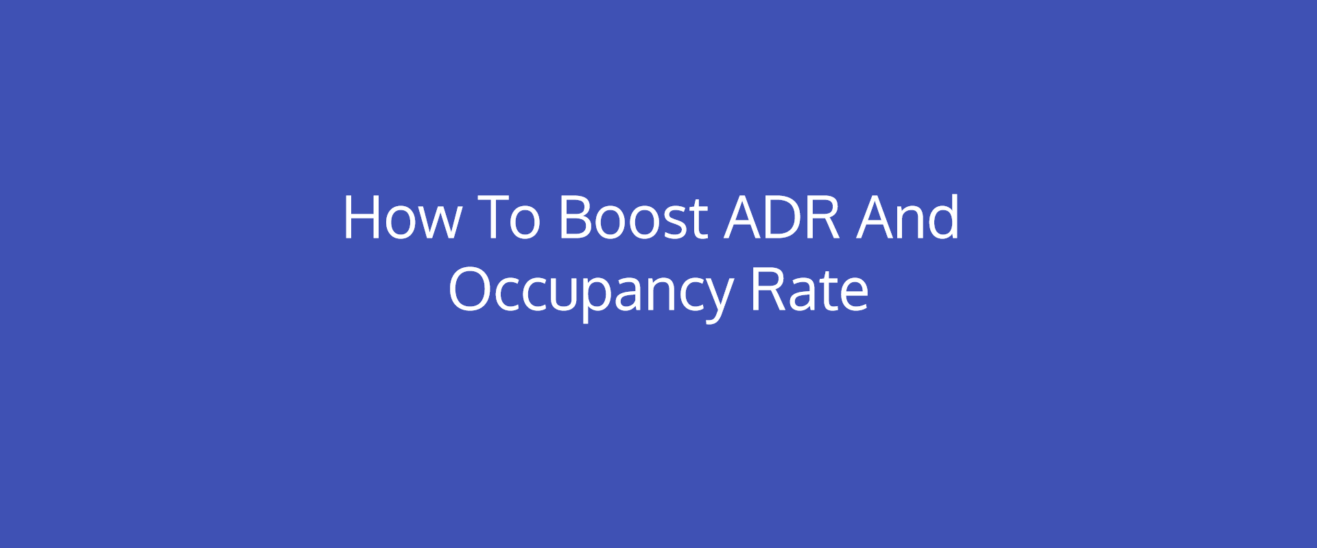 Adr Room Rate
