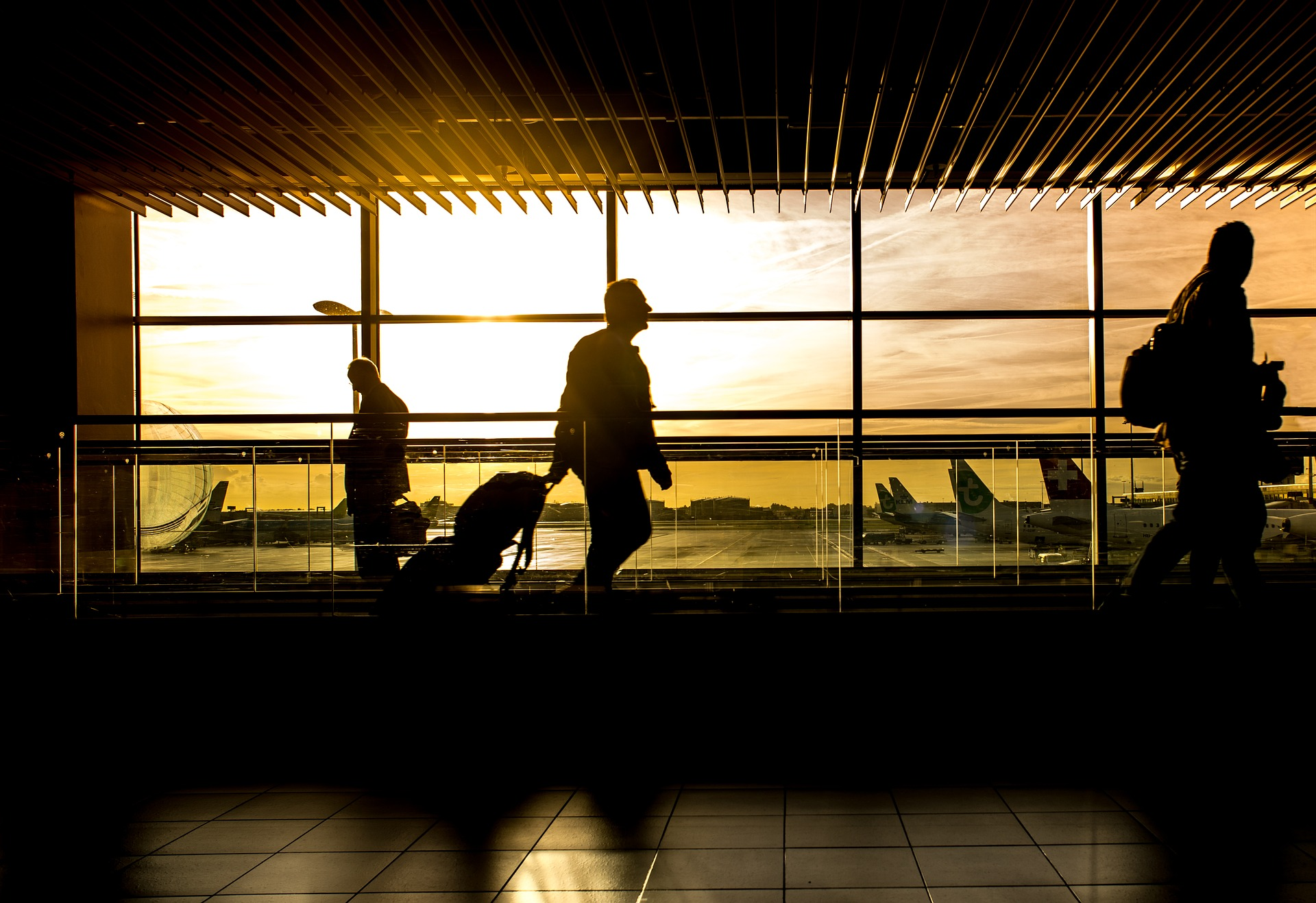 an image showing airport for business travel