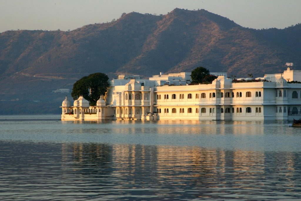 Udaipur palace one of the places you can visit in India