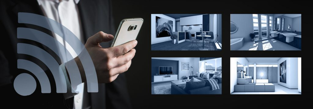 An image depicting a mobile connected through Wi-Fi is one of the crucial hotel amenities